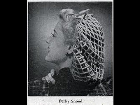 1940s Vintage Perky Snood Crochet Tutorial Youtube 1930 To 50s