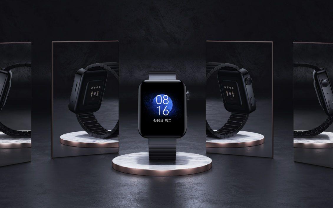 شاومي تطلق رسميا Mi Watch المستنسخة من ساعة آبل Iphone Apple