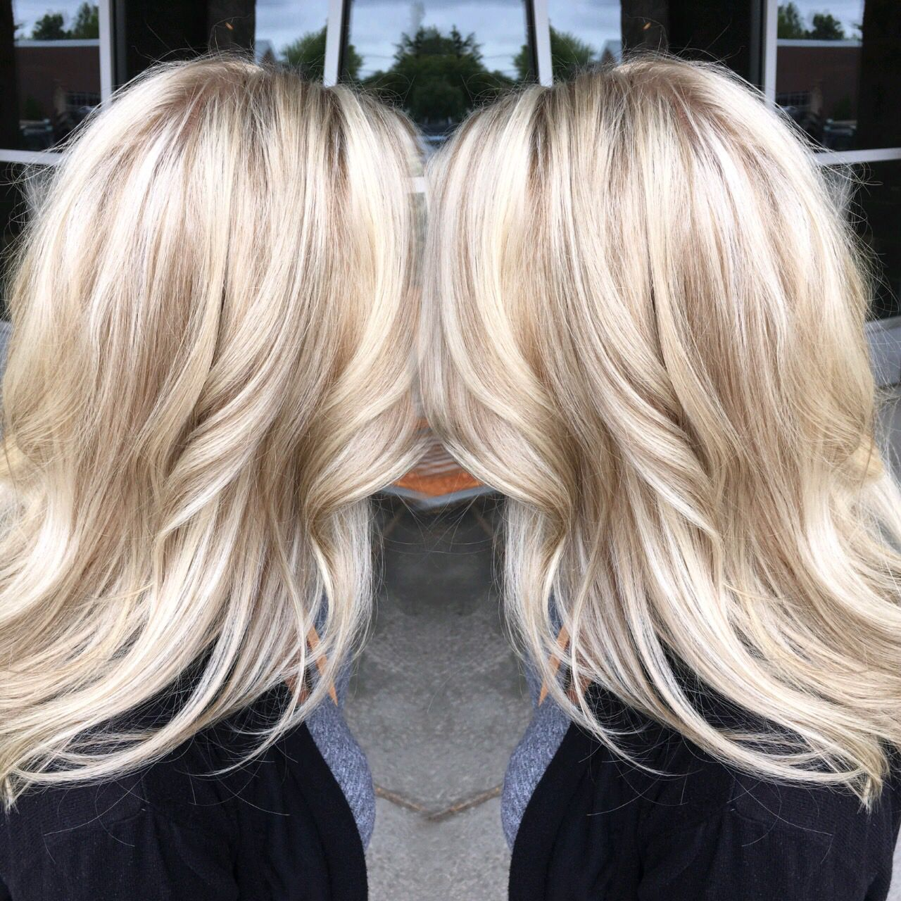 Highlight With Natural Lowlight Blonde Natural Hair