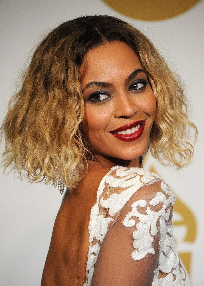 THE GRAMMYS: Beyonce Knowles' Ultra Sexy Chin Length Bob