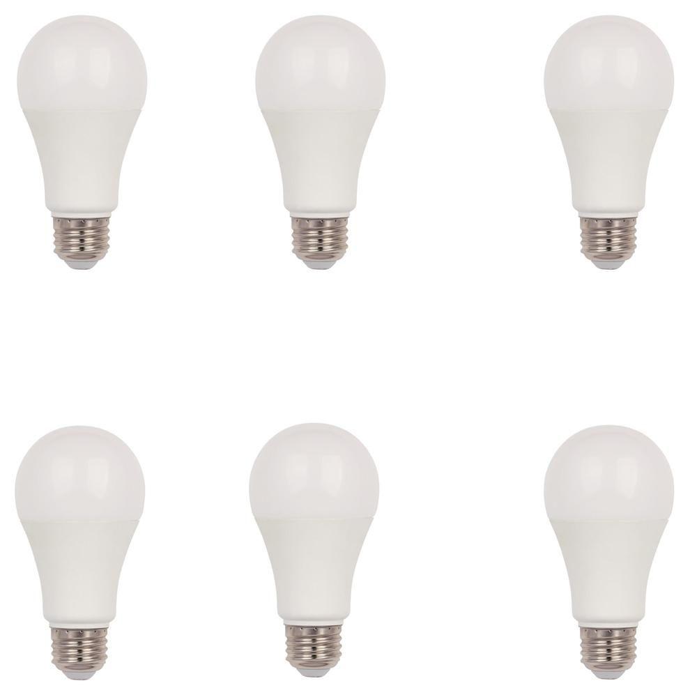 100 Watt Equivalent Cool White Omni A19 Dimmable Led Light Bulb 6 Pack Light Bulb Dimmable Led Lights Led Light Bulb