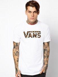 best choice promo codes clearance sale Vans Classic Leopard Logo T-shirt | Style guides, Festival fashion ...
