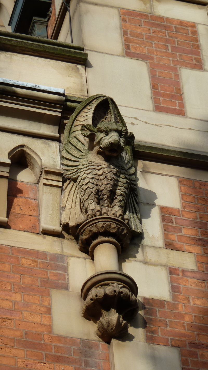 Quirky architectural feature