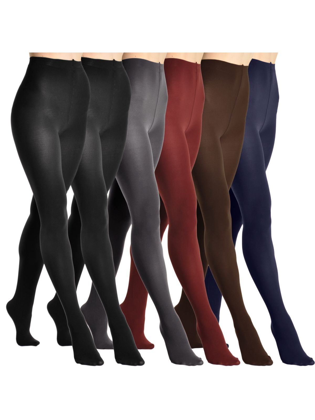 872751345f8c5 Angelina Winter Warmth Brushed Interior Thermal Tights (6-Pack)#Warmth,  #Brushed, #Angelina