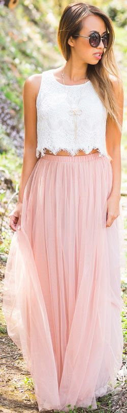 21 Cute Outfits for Summer 2015 | Summer, Maxi skirts and Skirts