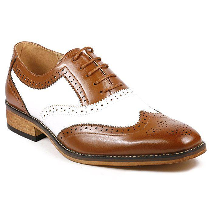 50+ Man two tone dress shoes info