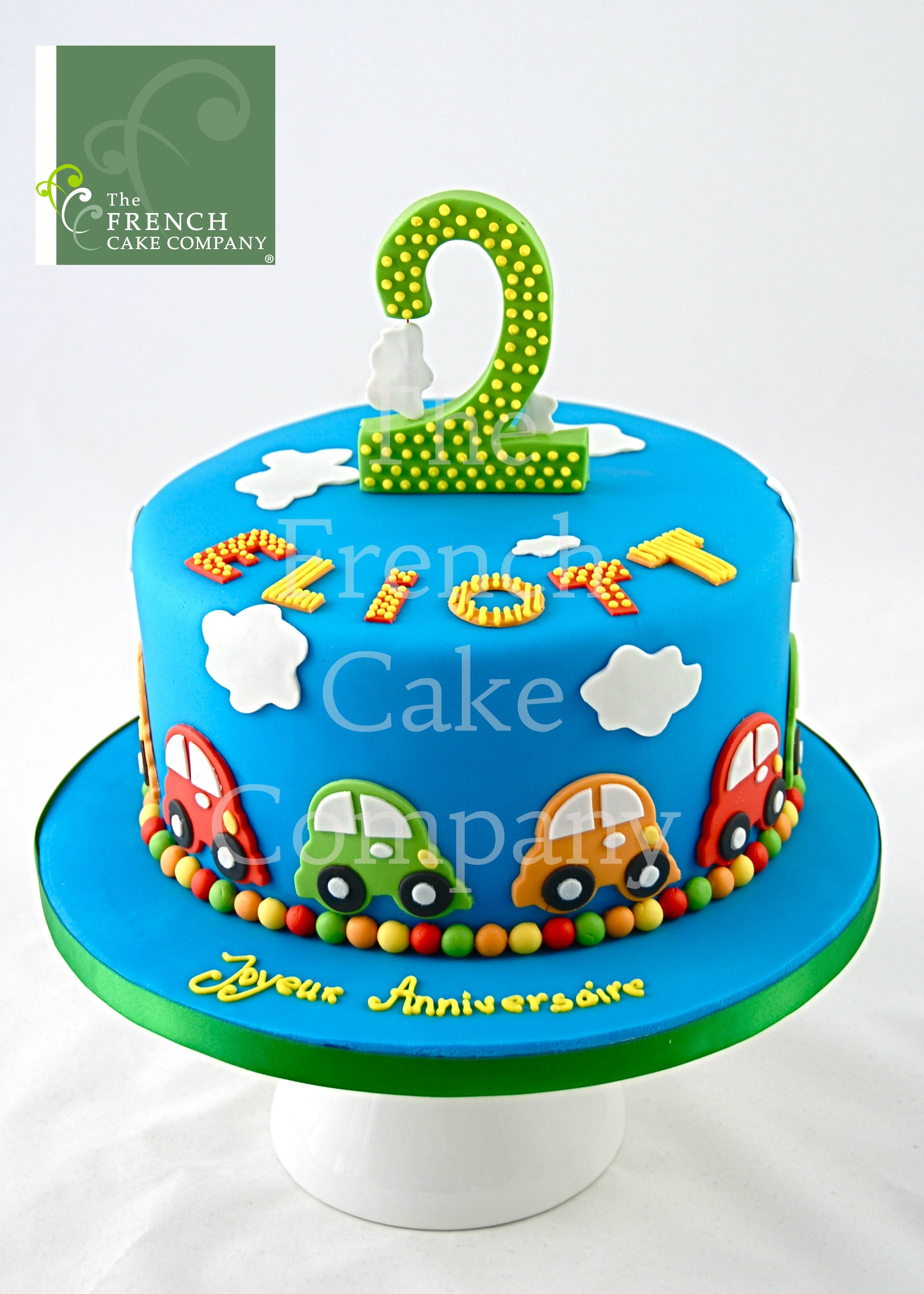 cake for boys cars gateau d 39 anniversaire pour enfants. Black Bedroom Furniture Sets. Home Design Ideas
