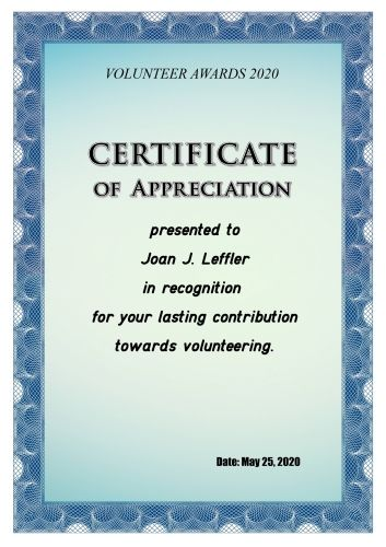 Create Appreciation Certificate with our great template! Just try - certificate of appreciation wordings