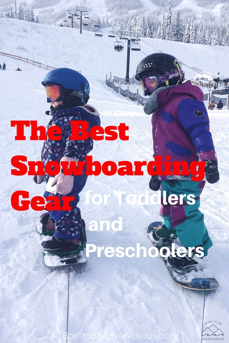 3846d1208 The Best Snowboarding Gear for Toddlers/Preschoolers | Gear Snowboarding  Kids