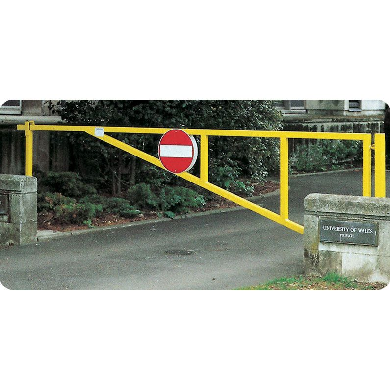 Manual Swing Barrier Gate Industrial Amp Commercial Gates