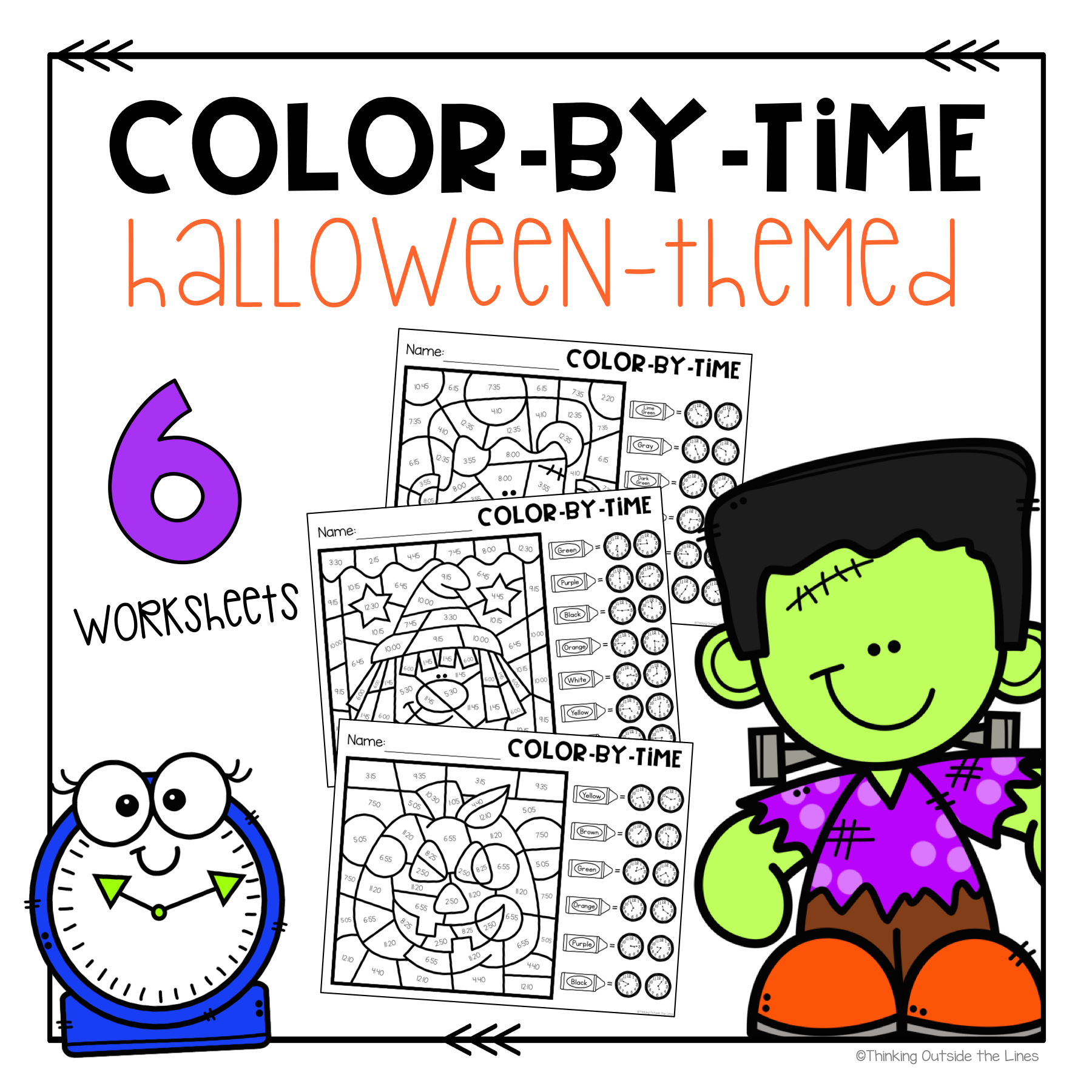 Halloween Time Printables In