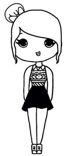 Resultado De Imagem Para Kawaii Girls Desenhos Kawaii