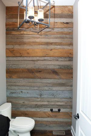 Bathroom Wall Wood Wall Bathroom Reclaimed Barn Wood Wall Bathroom Wall