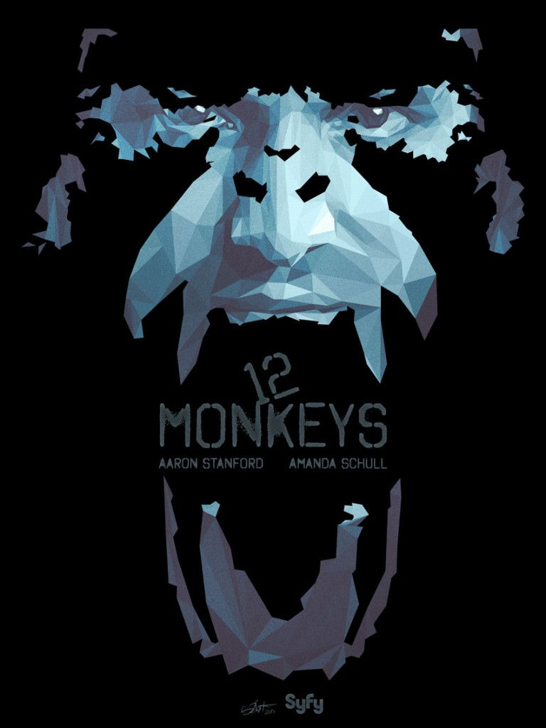 12 Monkeys tribute to SyFy TV show by Simon Delart | A