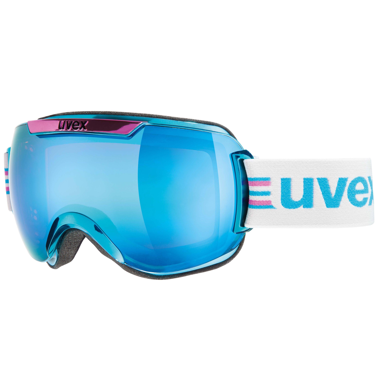 Uvex, Downhill 2000 race chrome, skibril, rozecyaan