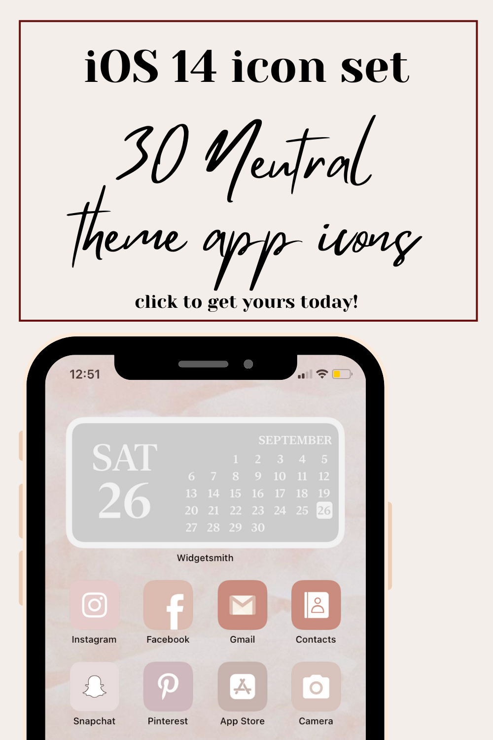 Grand Opening Sale Buy 2 And Get 40 Off Are You Looking For Some Inspiration To Spice Up Your Home Screen After The New Ios14 Update In 2020 App Icon App Covers App