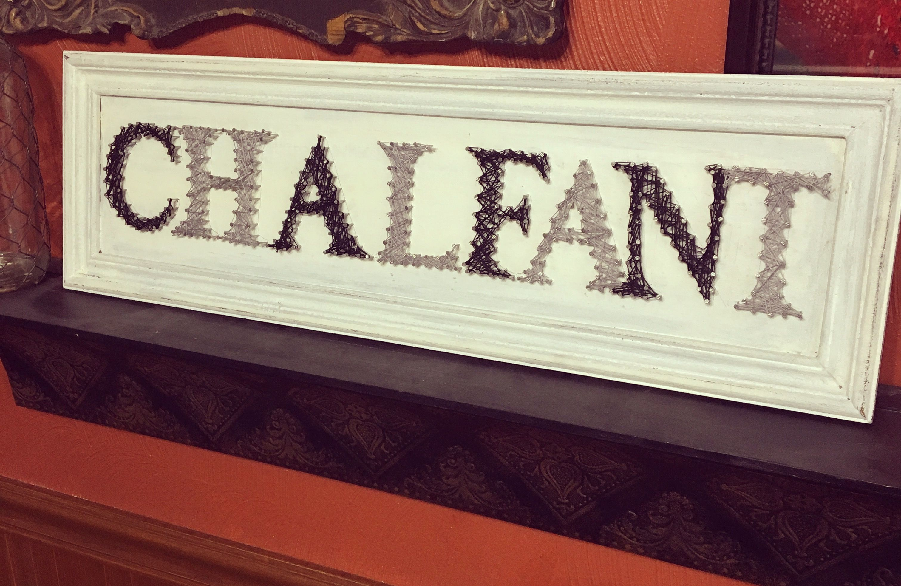 String art Neutral Black, Grey and whites Last name sign | CNS ...