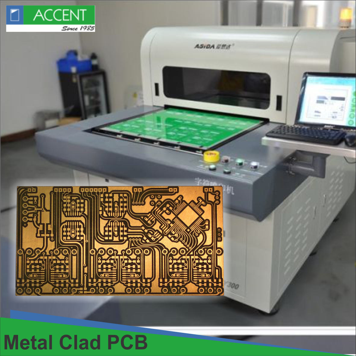 Metal Clad Pcb Designs From Accent Fixtures Offer More Application Use In A Variety Of Led Devices From Industrial To Automotive App Pcb Design Fixtures Design