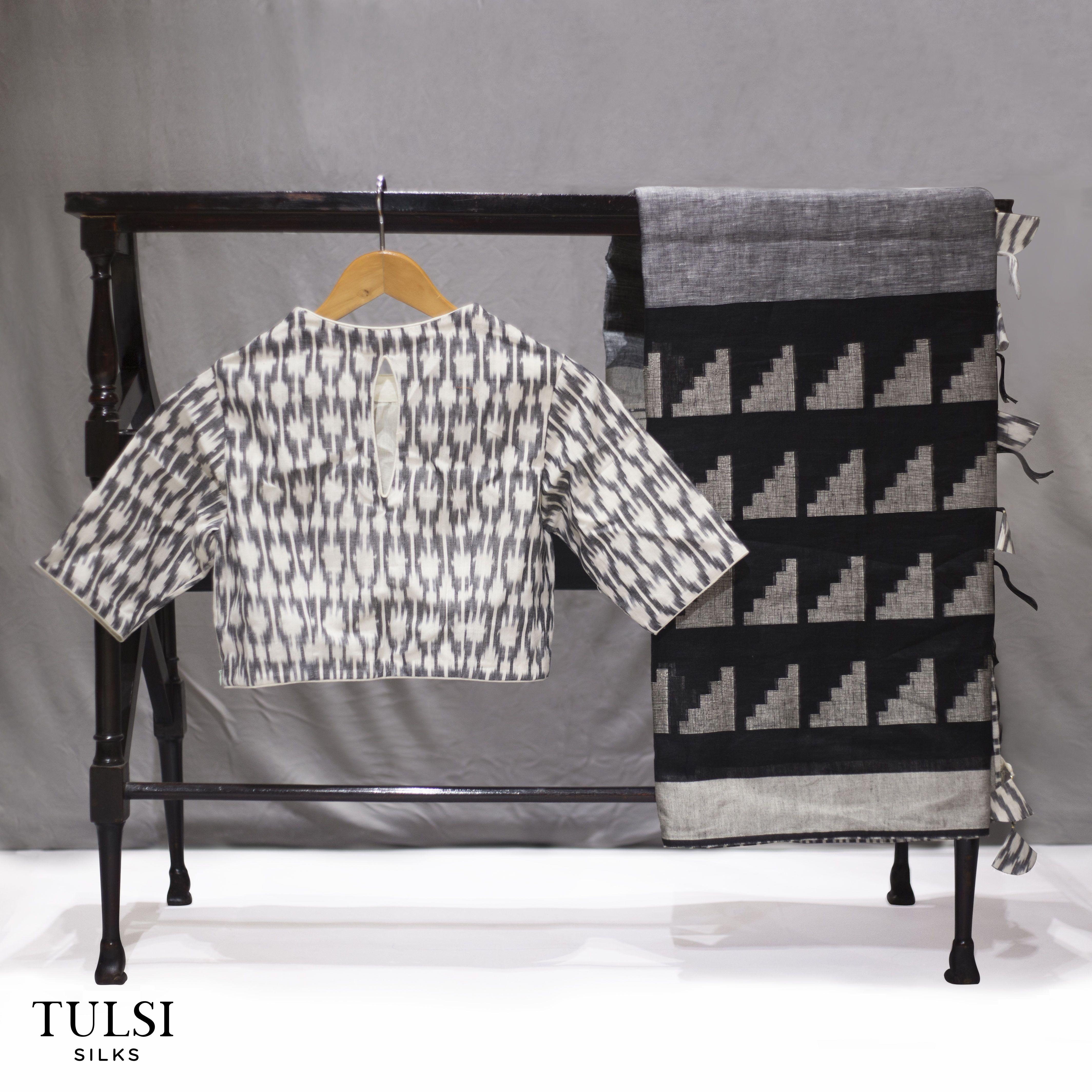 Pin By Tulsi Silks On Linen Sarees