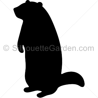 groundhog silhouette clip art download free versions of the image in eps jpg