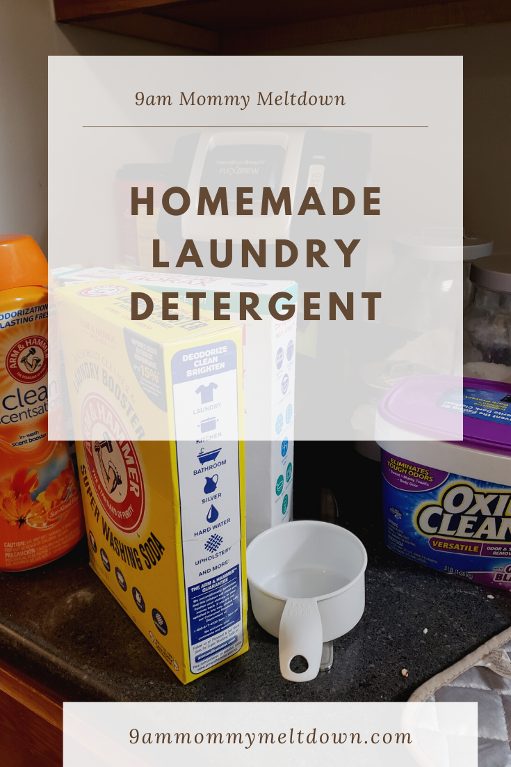 Best Homemade Laundry Detergent Recipe In 2020 Homemade