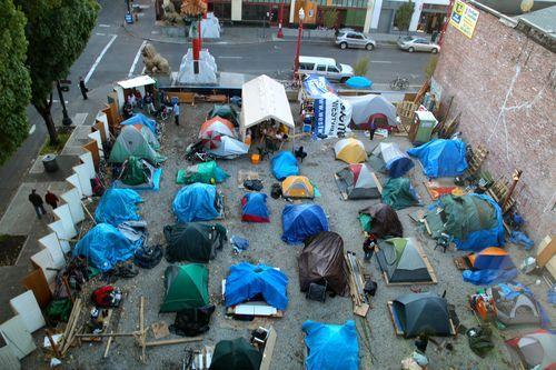 Portland Architecture Homeless Portland Architecture Tent