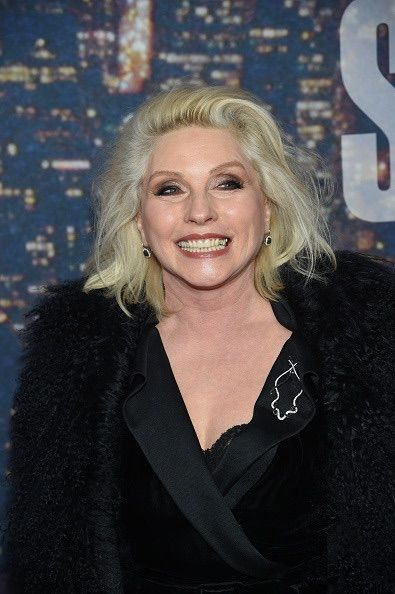That smile though! Debbie Harry at SNL's 40th anniversary Anniversary Celebration.
