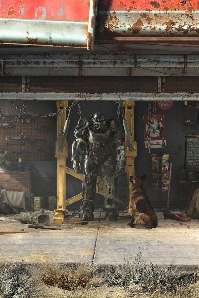 Fallout 4 Garage Iphone Wallpaper Hd Cool Wallpapers 4k Fallout Wallpaper Cool Wallpaper