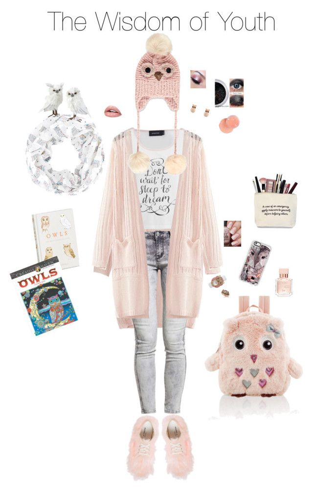 """""""Wise Choices"""" by lmello on Polyvore featuring WithChic, MINKPINK, Comme des Garçons, Forever 21, Effy Jewelry, Latelita, North Pole Trading Co., Accessorize, Betsey Johnson and Casetify"""