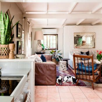 Australian interior designer eclectic home tour apartment therapy also it   hard to pick  fave room in this cozy living rh pinterest