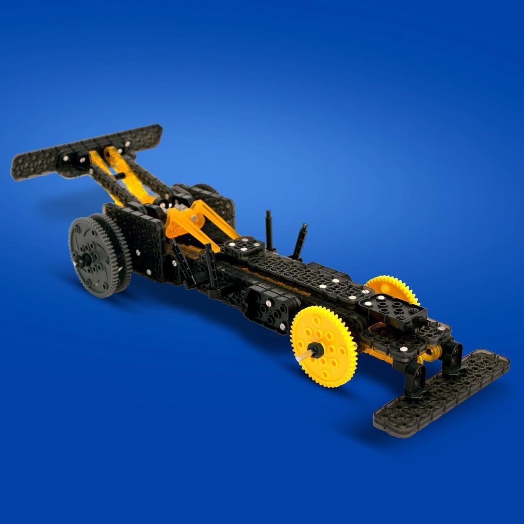 Dragster Is The Alternate Build Of The Vex Robotics Forklift Ball