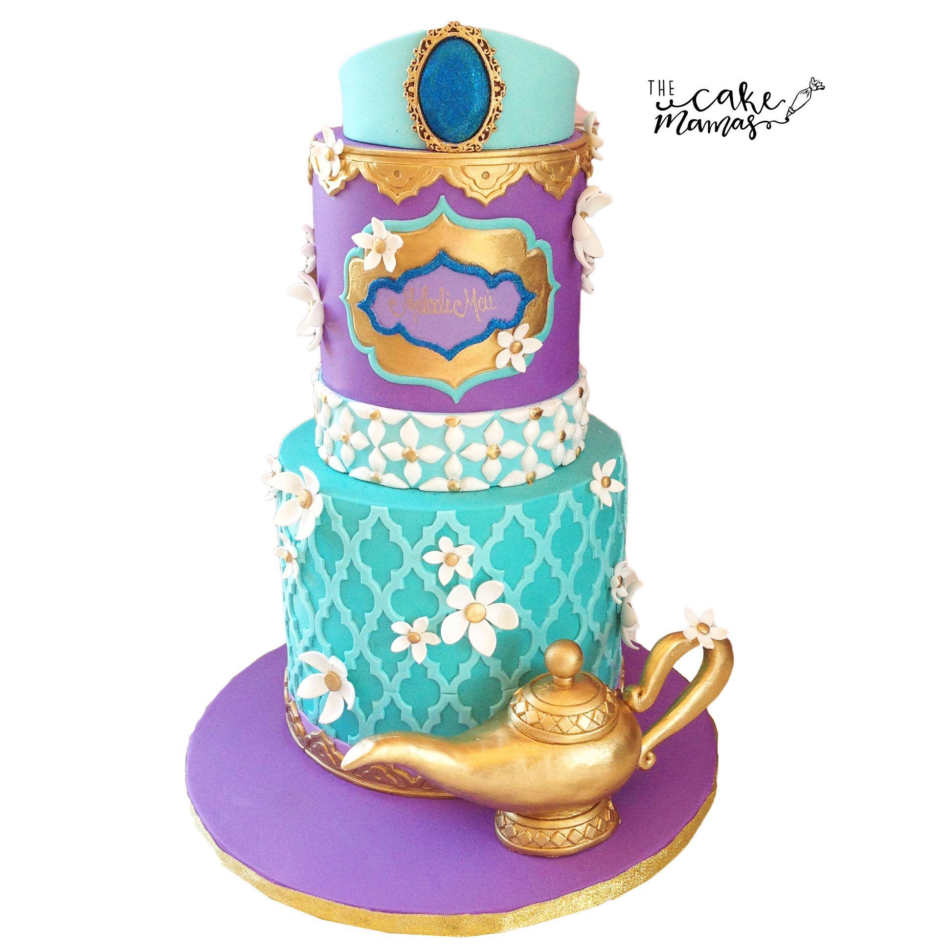 Princess Jasmine, Aladdin Birthday Cake. Call or email to