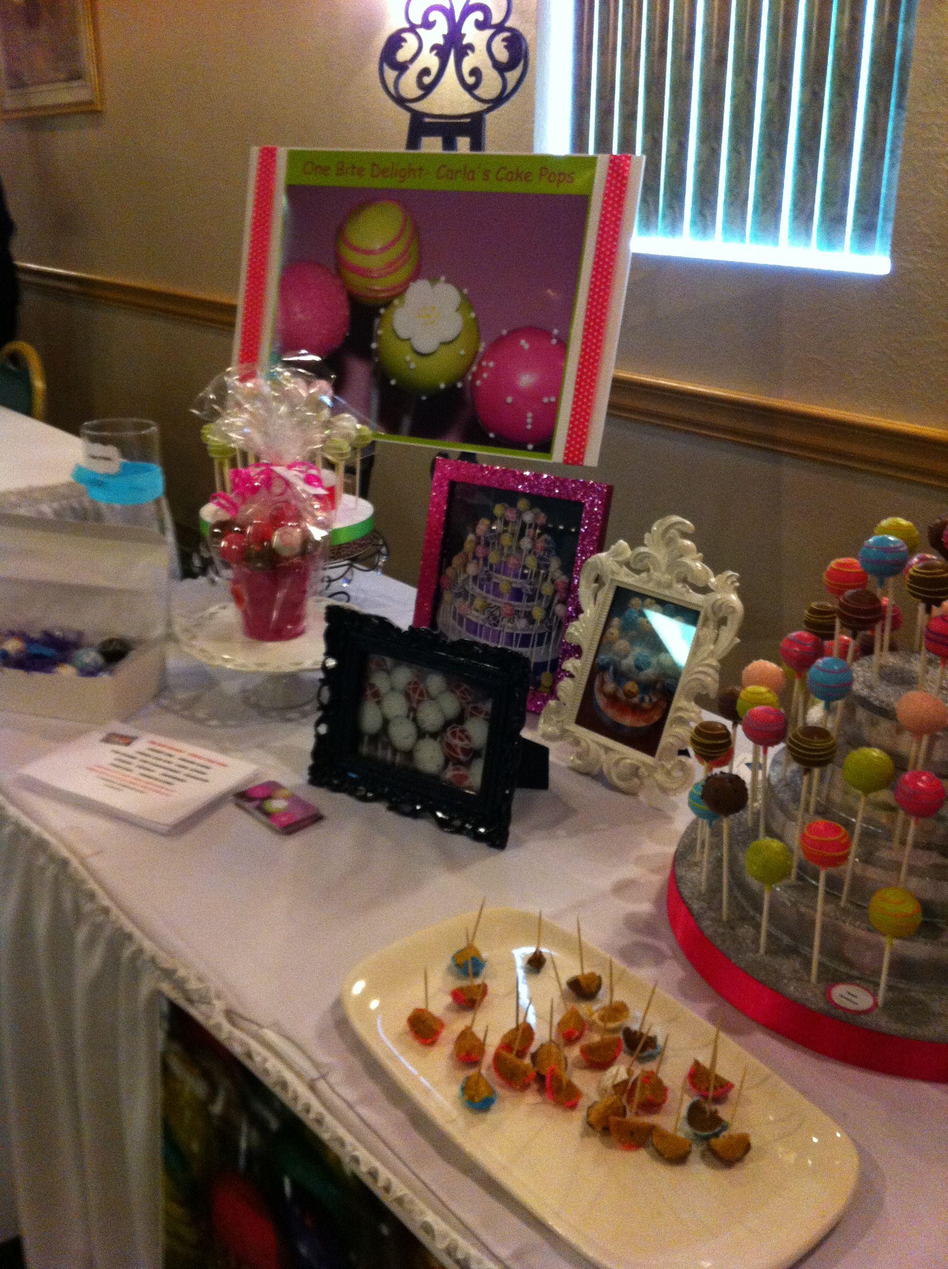Cake pops table display cake pops cake table display