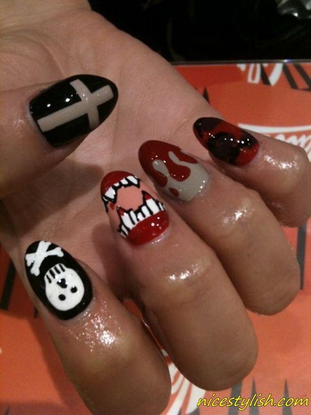 Girls nail art designs halloween nail art 2013 nails girls nail art designs halloween nail art 2013 prinsesfo Choice Image