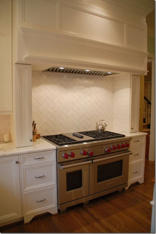 herringbone subway tile backsplash - Herringbone Subway Tile Backsplash New House - Kitchen And Bath