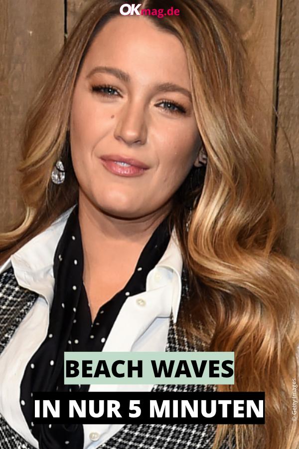 Beach Waves: In 5 Minuten zum stylischen Frühlings-Look ...