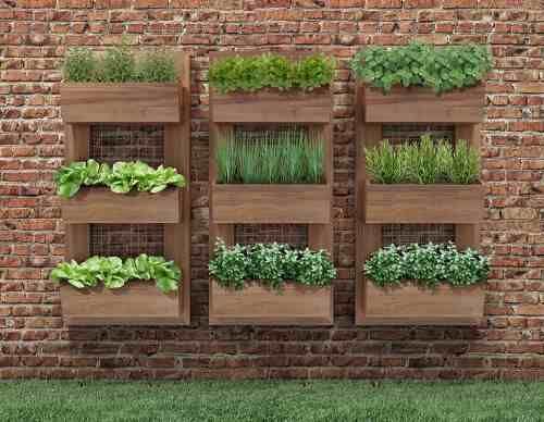 mini jardins verticais : mini jardins verticais:1000 ideias sobre Hortas Suspensas no Pinterest