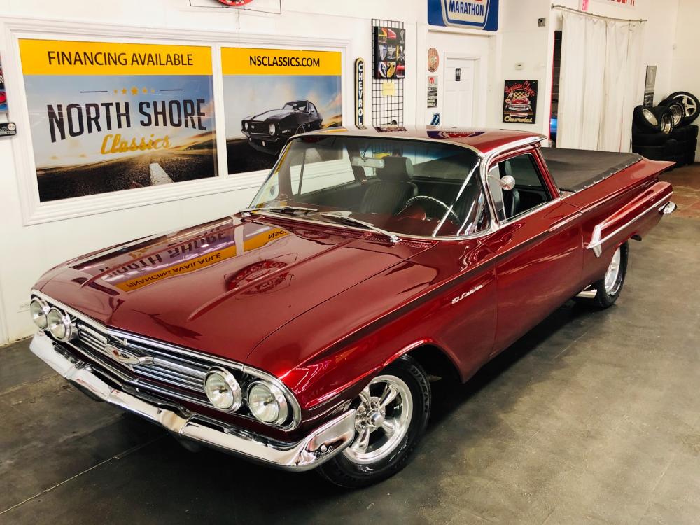 1960 Chevrolet El Camino -FACTORY 348 – NICE RESTO MOD- CUSTOM PAINT-FOR SALE  C…