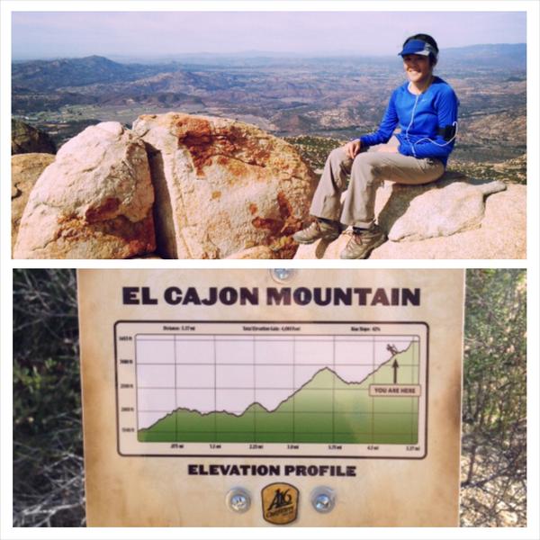 El Cajon Mountain Hiking Trail (San Diego, CA) http://www.yelp.com/biz/el-cajon-mountain-hiking-trail-el-cajon?hrid=f4wMWn1B1UKhYZWW8T-GCQ #hiking