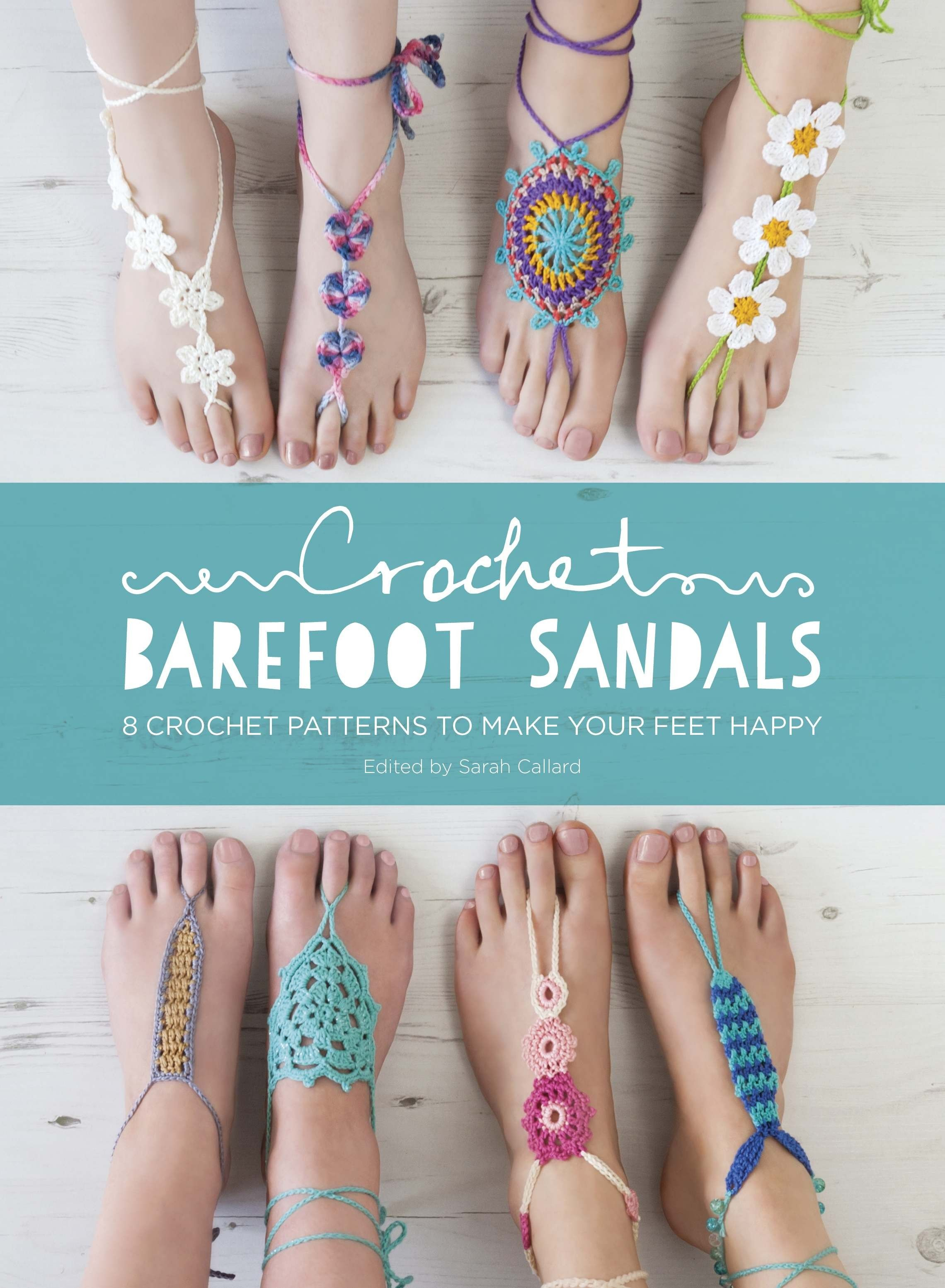 Crochet Barefoot Sandals eBook | crochet | Pinterest | Sandalias ...