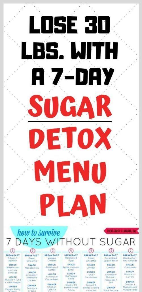 10 Days Sugar Detox Diet Plan To Prevent Diabetes - better health #Exercisestoburnbellyfat #sugardetoxplan