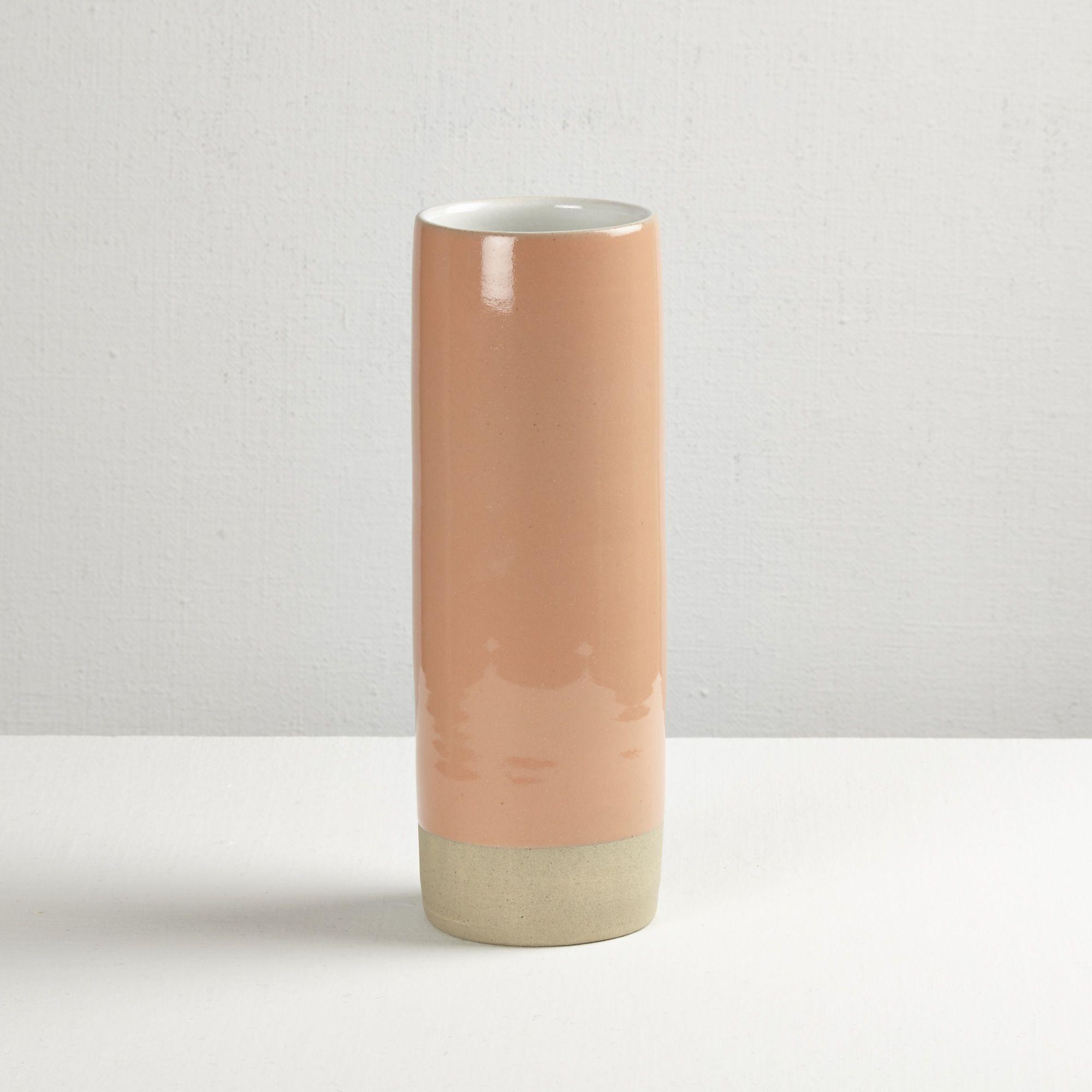 home goods decorative vases.htm les guimards medium cylinder vase  white   coral  with images  cylinder vase  white   coral