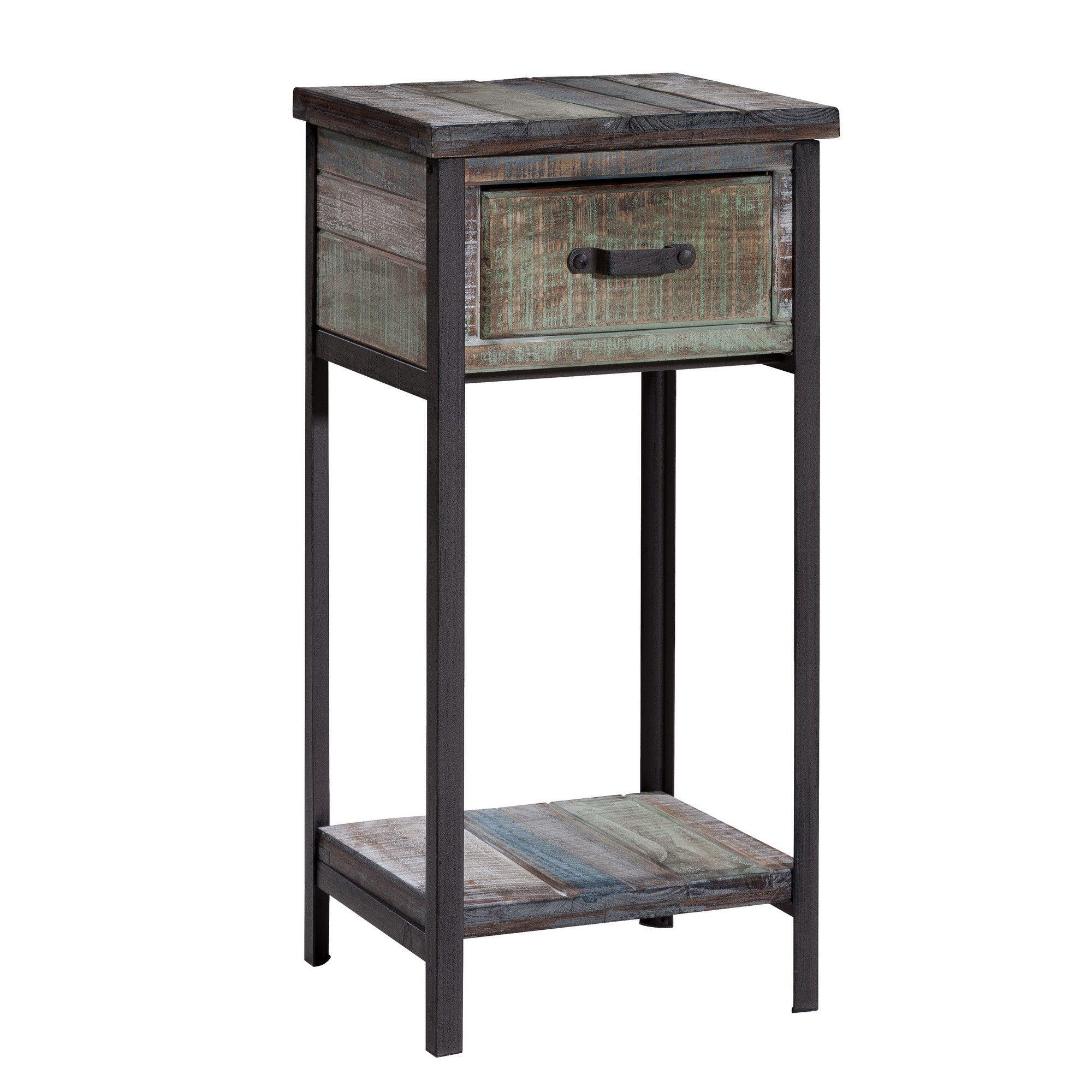 Clayera End Table at Wayfair $158 Make this no drawer