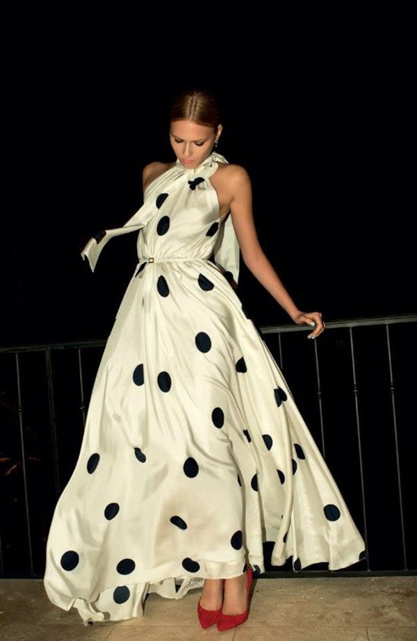 The 15 Prettiest Polka Dot Wedding Dresses For Girly Bride