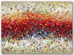 Resultado de imagen para yellow red abstract painting