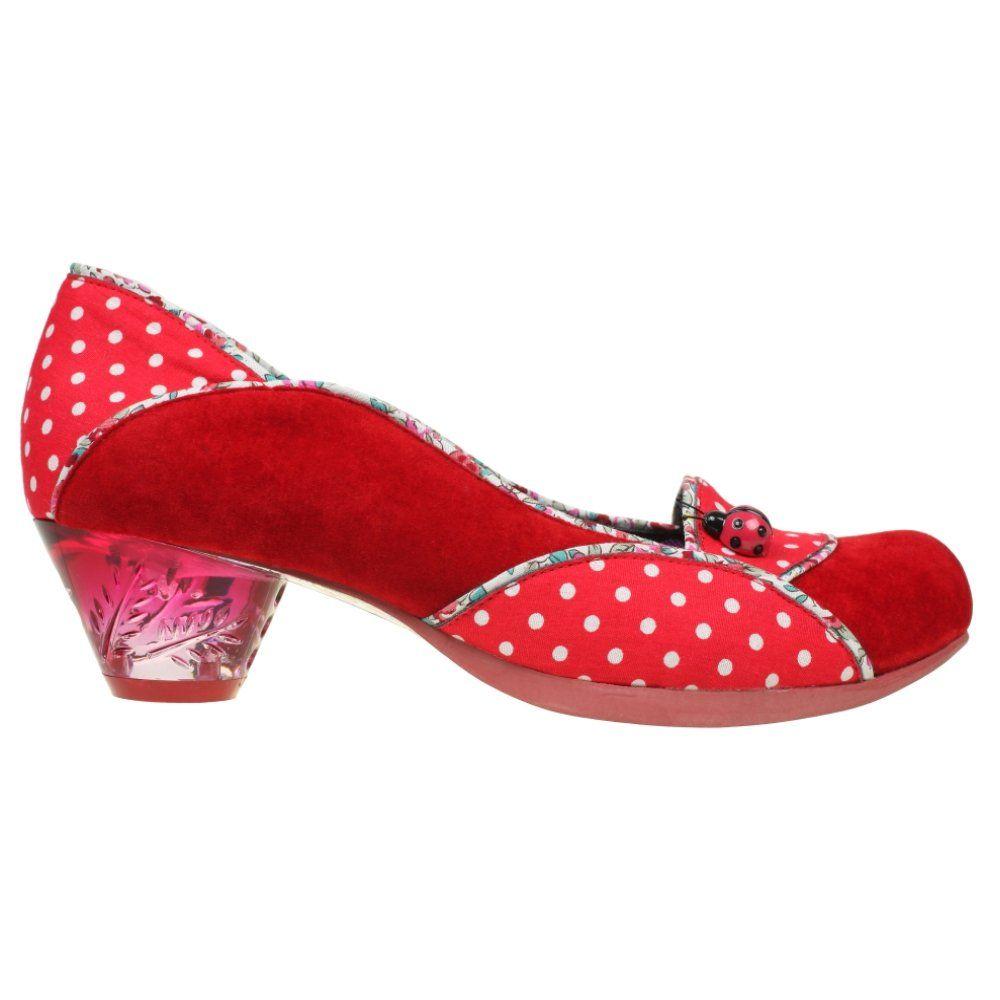 e020a4d61a7 Irregular Choice Ladybug Red Low Heel Shoe | ahh clothes | Irregular ...