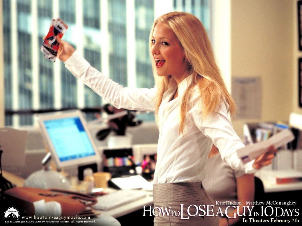Kate hudson as andie anderson how to lose a guy in ten