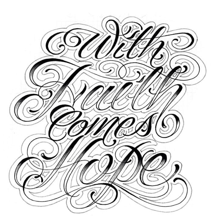 Letras Para Tatuajes Diferentes Diseños Y Estilos De: 1001 + Ideas De Letras Para Tatuajes Para Hombres Y