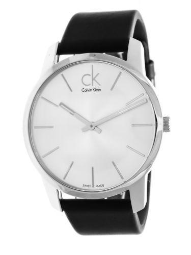 calvin klein men s swiss chronograph city stainless steel bracelet calvin klein men s k2g211c6 black analog watch