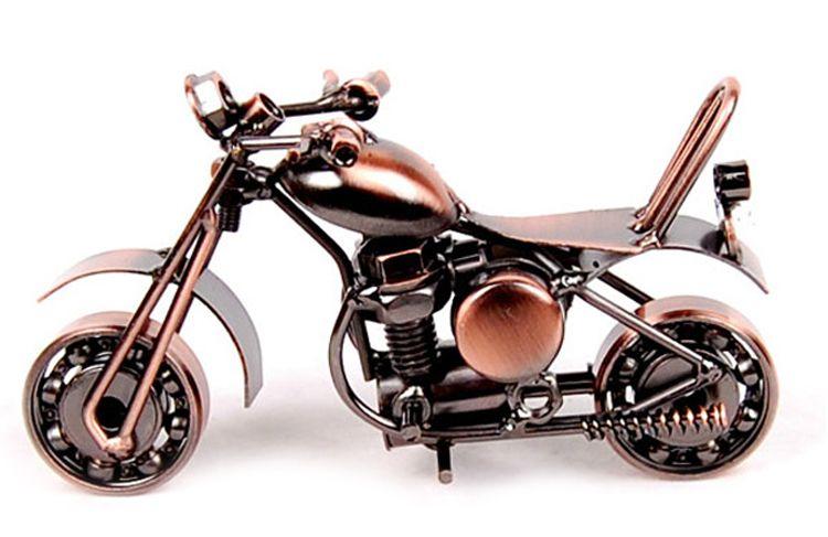 Handmade Harley Davidson Metal vintage car Model Iron Craft Decoration /& Gift